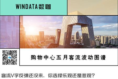 """全国mall客流恢复8成,一线城市""""后劲""""来了丨WIN DATA数咖"""