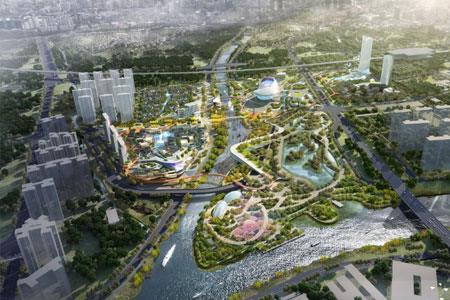 广东中山华侨城欢乐海岸项目动工 总投资额约80亿元