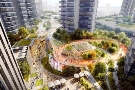 中洲深圳龙华商业中心城市更新项目通过审议 用地面积超34万㎡
