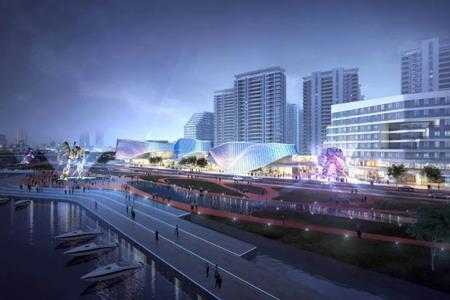 领地张家界机器人欢乐城项目开工 总投资20亿元