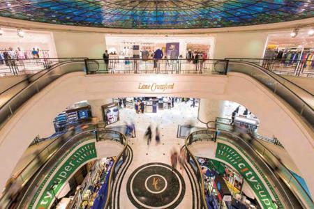 九龙仓置业中期股东应占亏损44.54亿港元 海港城整体收入下跌28%