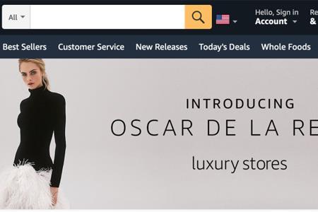 """亚马逊推出在线奢侈品购物体验计划""""Luxury Store"""""""