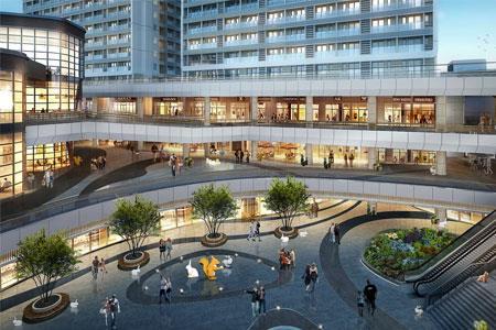 泰禾新天地商业景观