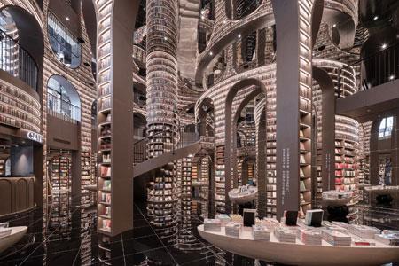 最美书店的商业价值,剖析网红书店钟书阁的设计师李想
