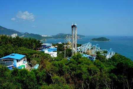 """香港海洋公园求生记 三方面着手转型""""度假胜地"""""""