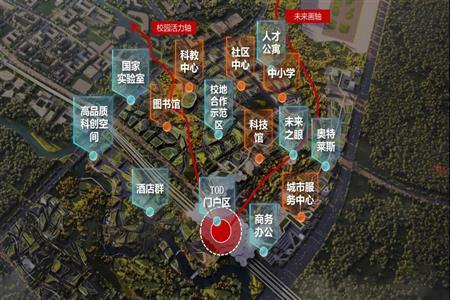 成都福田TOD片区发布最新设计方案 拟建奥特莱斯街区