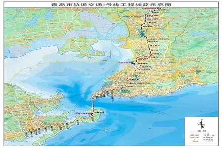 青岛地铁1号线全线贯通,超10座换乘站联通岛城五区