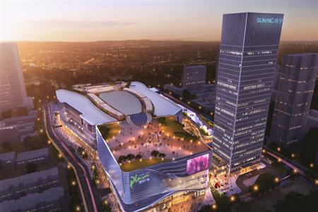 再造多个城市商业地标  2021年6座苏宁广场将陆续面世