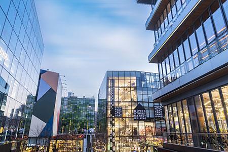 一线城市TOP10商圈品牌多样性大PK,赢家竟不是上海