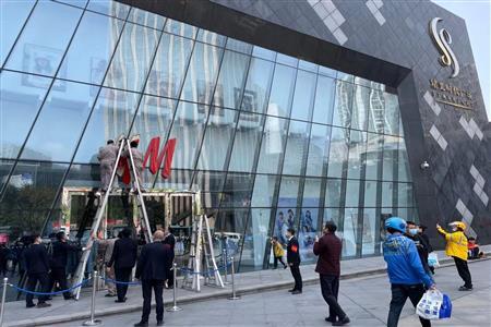 南坪星光时代广场H&M店停止营业