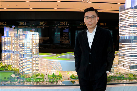 """武汉恒隆广场叶沛能:""""一切从新""""与城市共启商业新征程   赢商对话"""
