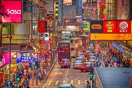 香港第一季经济按年实质增长7.9% 结束连续六个季度收缩情况
