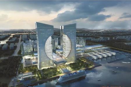 """中山134.54亿挂牌4宗地 马鞍岛""""未来之门""""地块起价达78.8亿"""