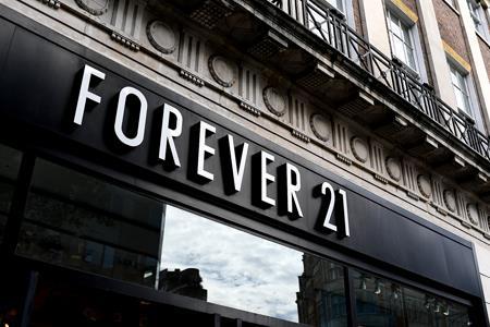 Forever 21母公司递交IPO申请 估值达100亿美元