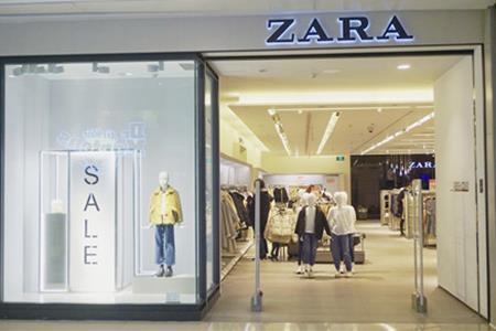Zara母公司一季度销售额同比大涨50%至49.42亿欧元