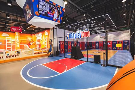 玩转IP——NBA Playzone成长中心全新亮相