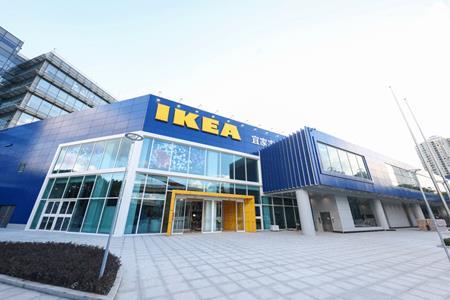 宜家全球首个新设计商场:3万+㎡商业场景全更新