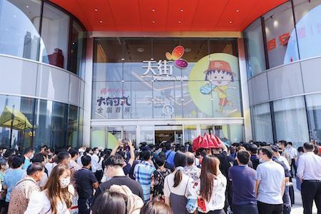 龙湖杭州江东天街今日开业,95%区域首进重塑城东商业格局