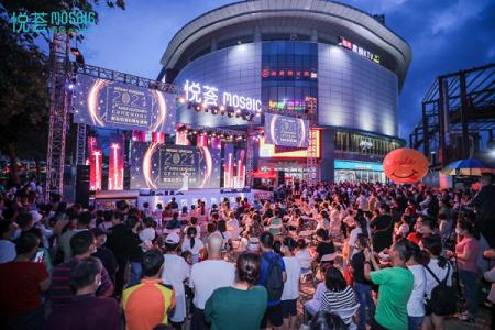 青岛悦荟广场6周年庆 激情百老汇音乐剧惊艳岛城 再创社区MALL购物中心标杆典范