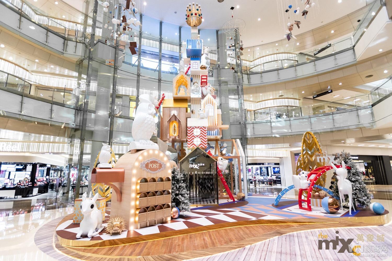 2018年深圳万象城圣诞亮灯1
